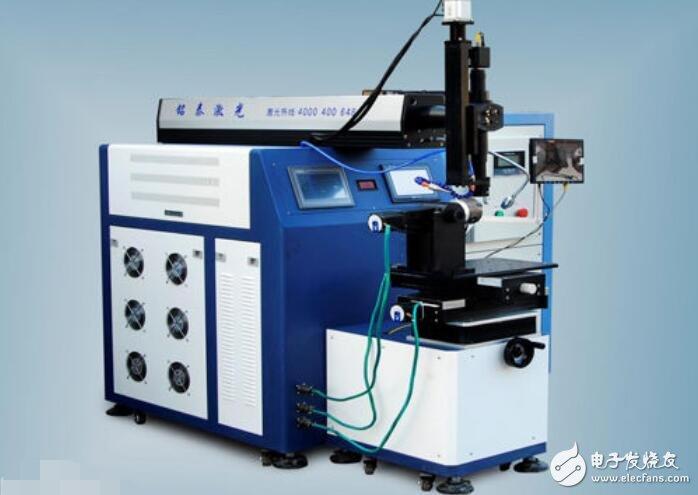 激光焊接機焊接視頻