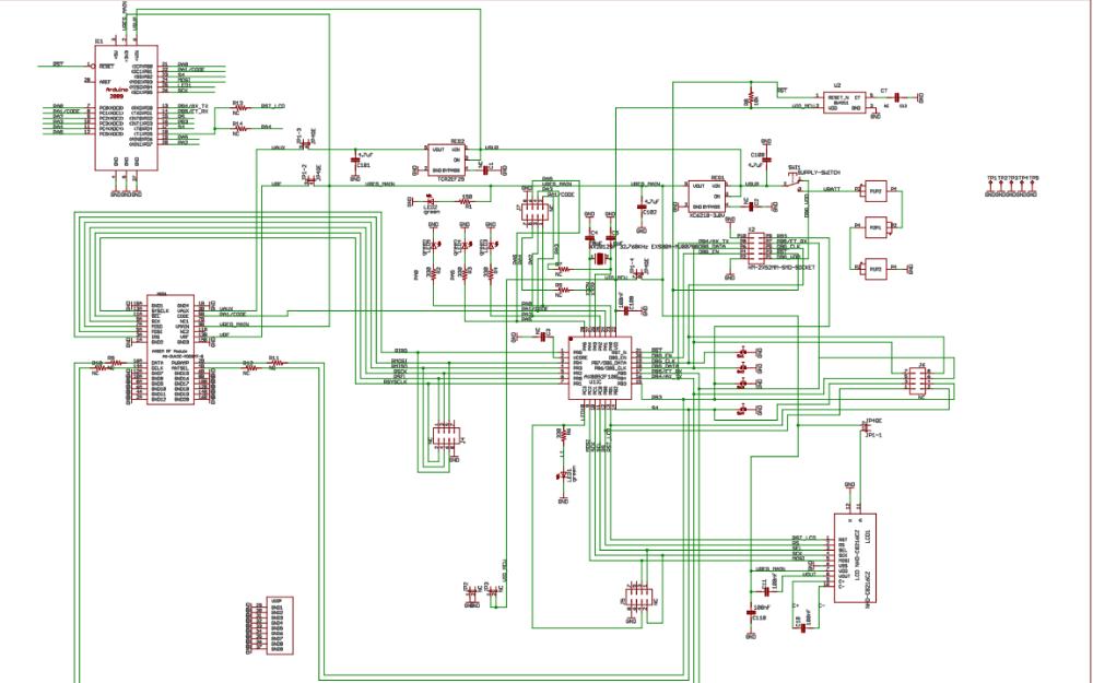 Arduino AX8052芯片的电路原理图免费下载