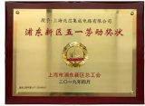 兆芯榮獲2019年浦東新區五一勞動獎狀榮譽稱號
