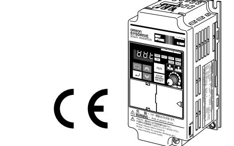 3G3JV小型變頻器的用戶手冊免費下載