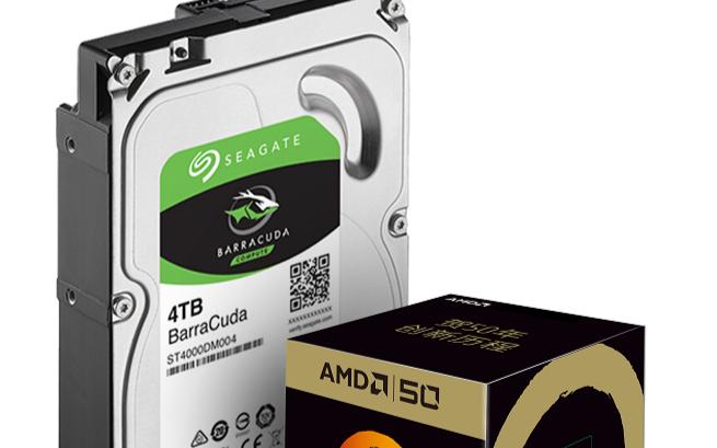 希捷与AMD联合推出�u限量版DIY套装,引领DIY产业新∞风尚