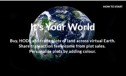 基于面向初学者和专家的区块链游戏HODL Earth介绍