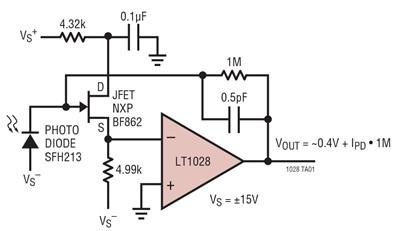 LT1028运算放大器的特性及应用