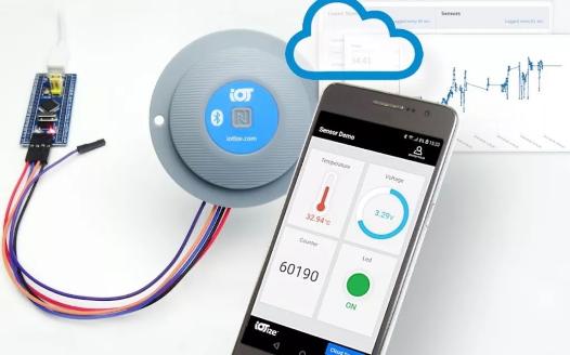 IoTize用于即时NFC和蓝牙的TapNLin...