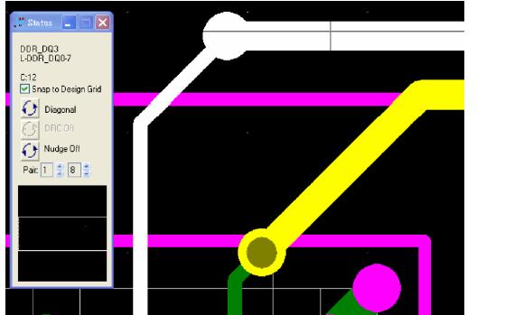PowerPCB如何在不同層去設置不同線寬的走線
