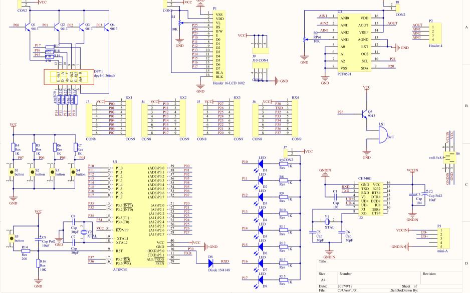 使用单片机进行温湿度测控系统的设计资料合集