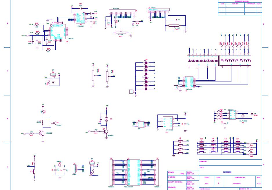系列PIC可編程中斷控制器的電路原理圖免費下載
