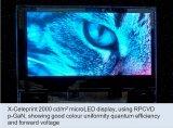 分辨率再获提升,VueReal本周将展出Micro LED样品