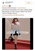LV和柔宇科技合作的全球首款柔性屏时尚手袋