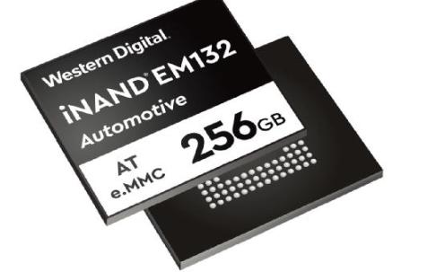 西部数据iNAND AT EM132嵌入式闪存盘专为自动驾驶高级应用设计