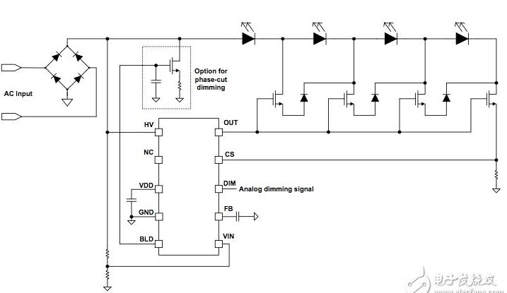 如何采用DACD方案驱动LED灯