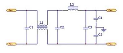 MCM功率電源模塊的電磁兼容性EMC設計