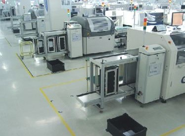 SMT生产线的工艺加工流程介绍
