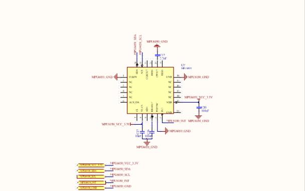 陀螺仪模块的电路图分析与设计