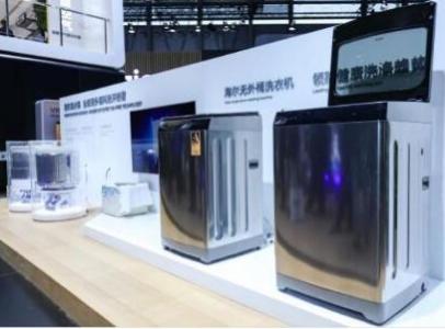 """海尔""""无外桶""""洗衣机批量生产 能满足用户多场景下..."""