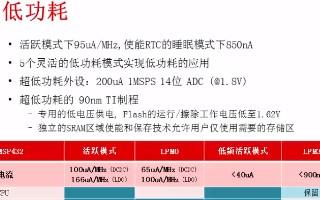 MSP432产品的基本介绍(2)