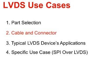 LVDS接口的典型用例分析
