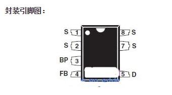 LNK364PN芯片的特点及引脚图