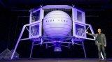 """航天公司蓝色起源揭晓了一款全新的月球登陆器""""Blue moon"""""""