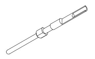 电连接器插针的零件图资料免费下载
