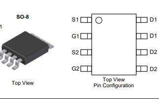 DMC3016LSD互补对增强模式MOSFET的数据手册免费下载