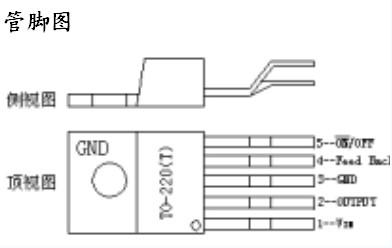 LM2596集成稳压芯片的基本特性及应用