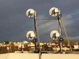 5G无线回传突破100Gbps