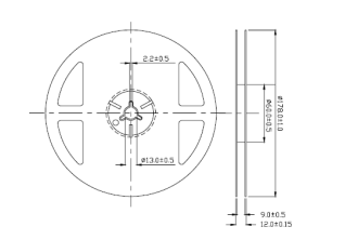 SMD1206 RGB共阴贴片LED灯珠的数据手册免费下载