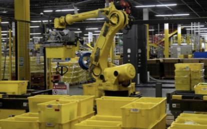 亚马逊自动打包机 解放数千名员工