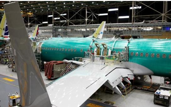 波音飛機交付量截止到2019年4月前為172架與2018年同期相比下降了24%