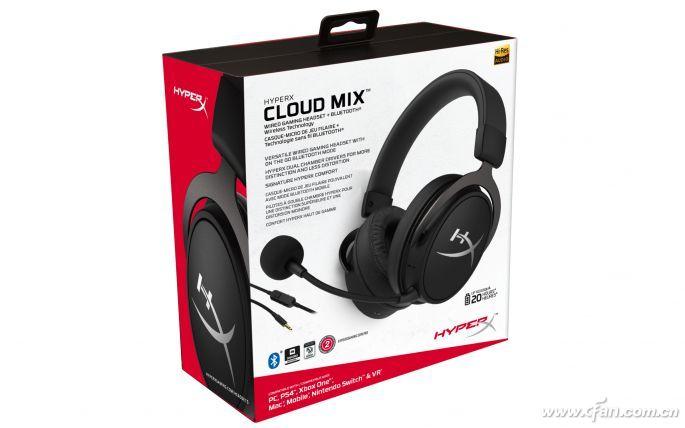 HyperXCloudMIX蓝牙游戏耳机怎么样 ...