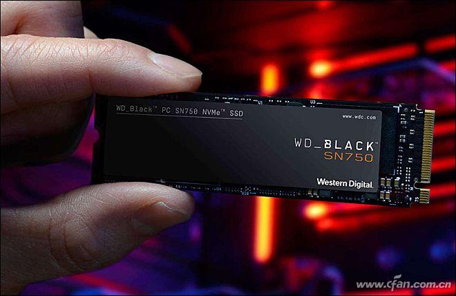 西部数据WDBLACKSN750评测 性能在NVMeSSD阵营中处于一流水准