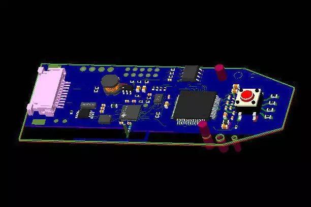 教你用Allegro制作3D电路板效果图