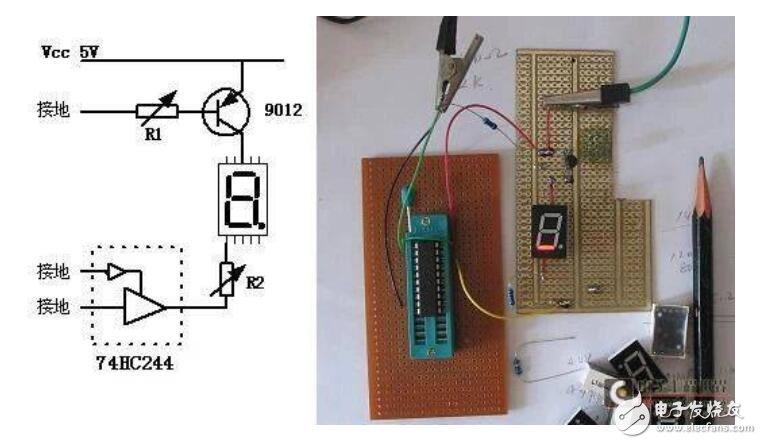 如何制作单片机简单电路