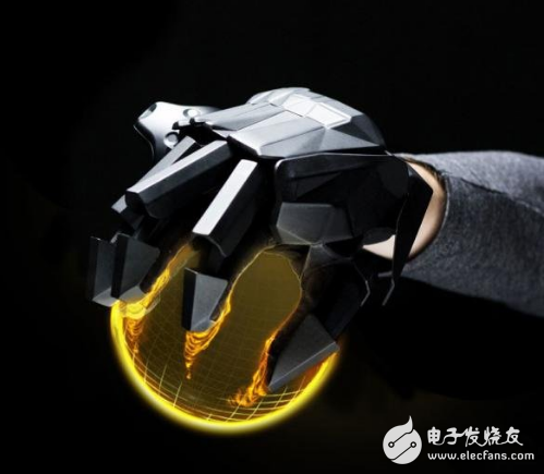 """机械手VRgluv力反馈传感手套让""""触摸""""变得更真实"""