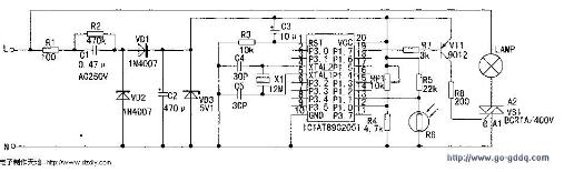 AT89C2051单片机智能控制器电路的设计