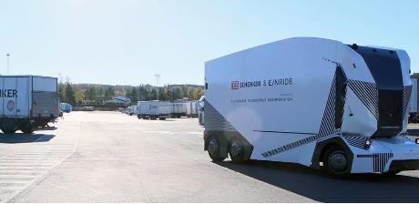 无人驾驶电动卡车开始商用 物流无人化照进现实