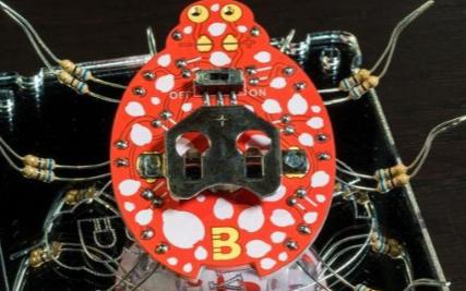 焊接的艺术 瓢虫机器人
