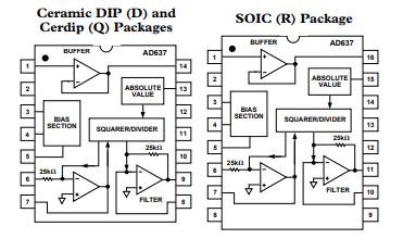 AD637转换器芯片的原版数据手册免费下载
