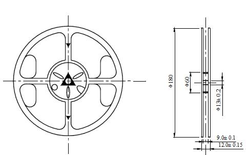 SMD0603冰蓝色贴片LED灯珠的数据手册免费下载