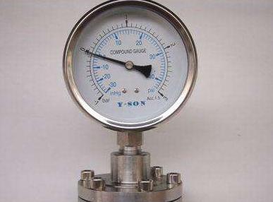 隔膜耐震壓力表的常見故障及原因