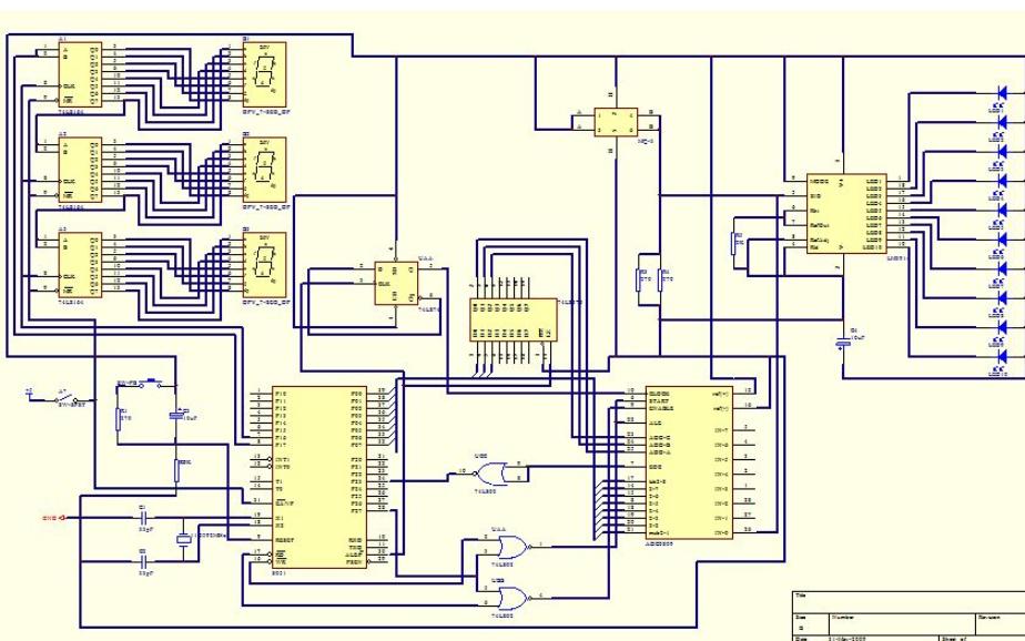 使用C51单片机和Proteus仿真设计负载平衡监控系统的应用实例资料说明