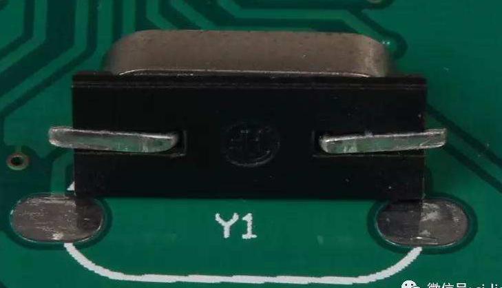 关于晶振我们如何焊接