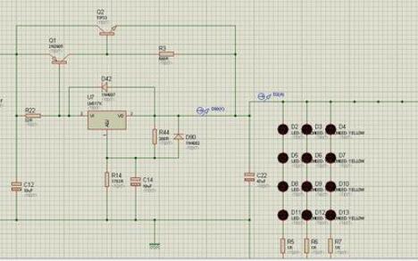 使用C51单片机和Proteus仿真进行呼吸灯的设计程序和资料说明