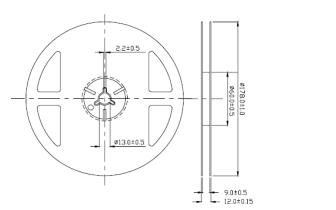 SMD1204 RGB共阴贴片LED灯珠的数据手册免费下载