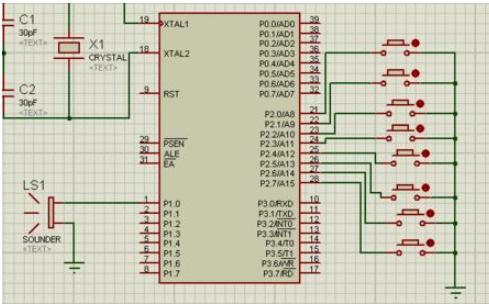 使用C51单片机和Proteus仿真设计简易电子琴的应用实例资料说明