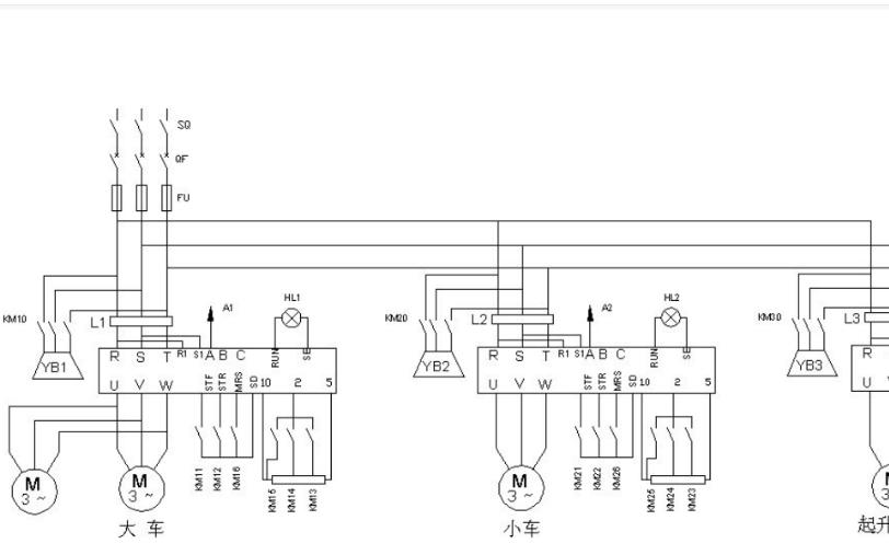 使用C51单片机和Proteus仿真设计桥式起重机控制系统的应用实例资料