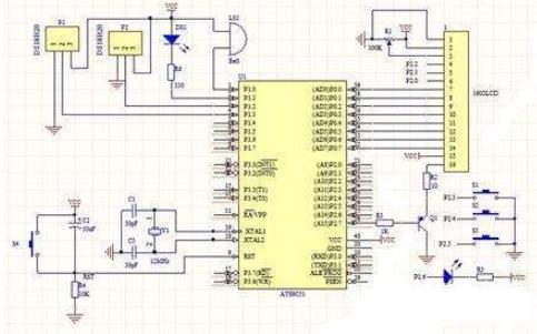 DS18B20温度传感器的详细使用程序和资料说明