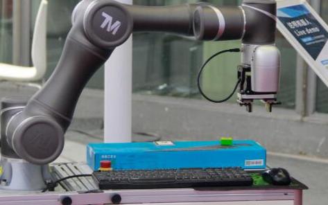 人机共融大势所趋 达明机器人进军美国市场