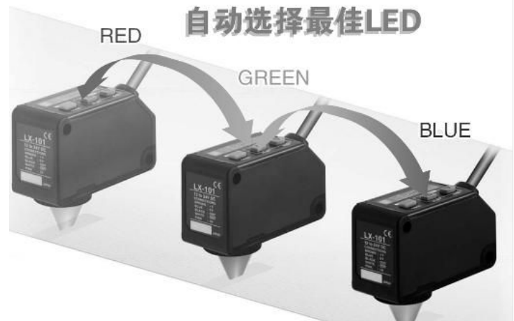 DX-101色标传感器的详细资料说明